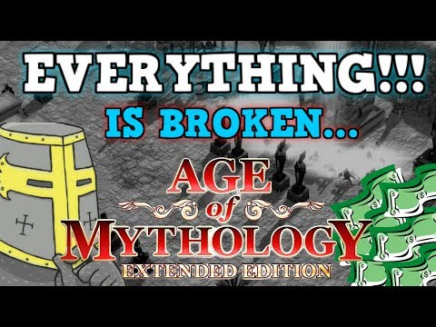 AGE OF MYTHOLOGY IS A PERFECTLY BALANCED GAME WITH NO EXPLOITS - Everything Is Broken