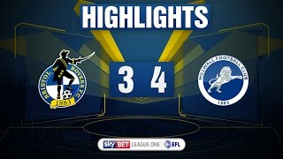 Highlights: bristol rovers 3-4 millwall