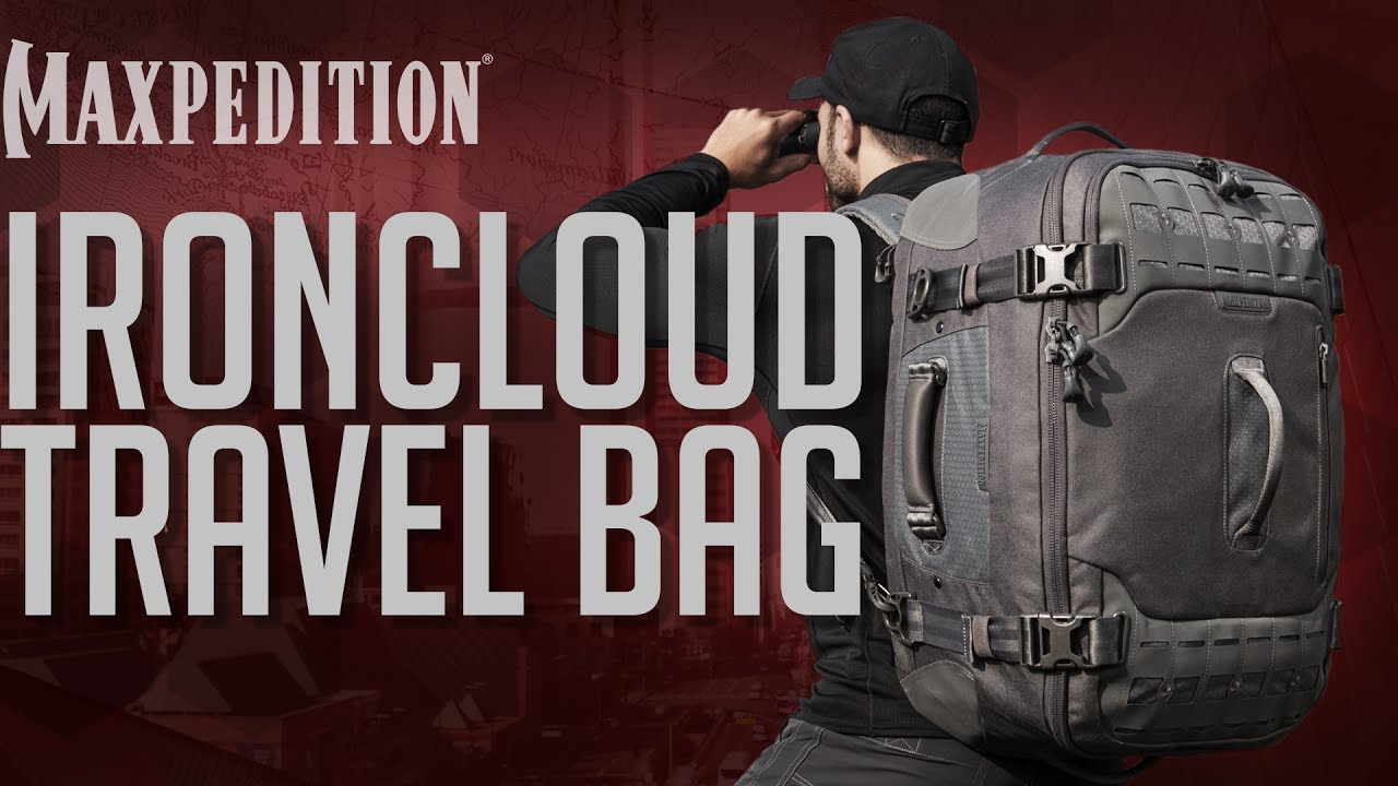 Ironcloud Adventure Travel Bag