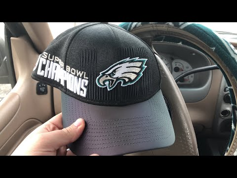 New Era Eagles Super Bowl 52 champions Trophy Collection Hat Review ... 15d5fb13e