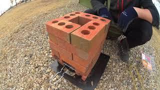제작비 10,000원 이면 충분 │ 벽돌로 로켓스토브 만들기 │ How to make Brick Rocket Stove