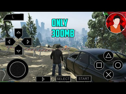 [300mb]🔥 DOWNLOAD REAL GTA 5 FOR PPSSPP ON ANDROID