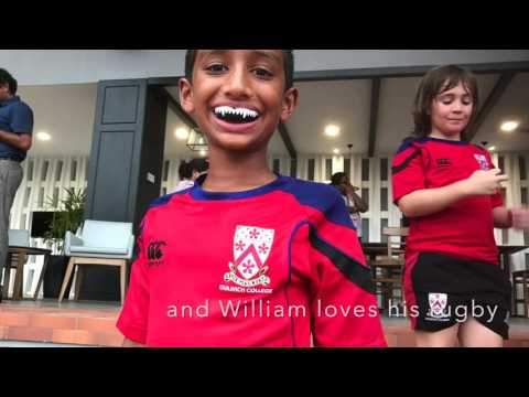 A day at Dulwich College Singapore with the boys