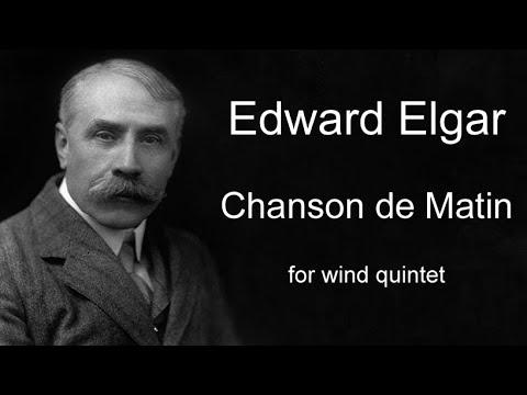 Chanson du Matin - Edward Elgar - for woodwind quintet