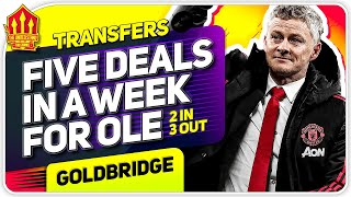 5 Man Utd Transfers This Week! Man Utd Transfer News