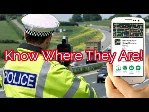 Police Detector Speed Camera Radar App  Review & Tutorial