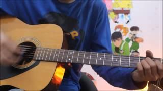 Hoor - ATIF ASLAM - Hindi Medium - Guitar cover lesson chords easy hindi