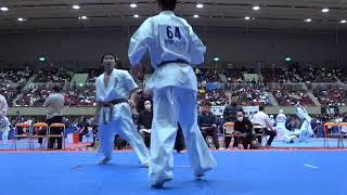 2017年4月2日、横浜文化体育館にて開催された第22回全関東空手道選手権大会の軽量級準決勝です。 The 22nd All Kanto Karate Tournament light weight Semifinal ...