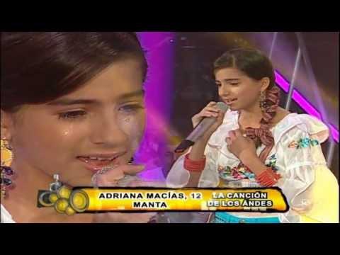 Adriana Macías - Canción de Los Andes (Etapa de Finales 2)