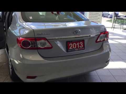 2013 Corolla CE Manual - Milton Toyota