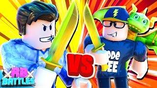 JAYINGEE AND SEEDENG BATTLE IT OUT FOR 30,000 ROBUX! (Roblox Battles)