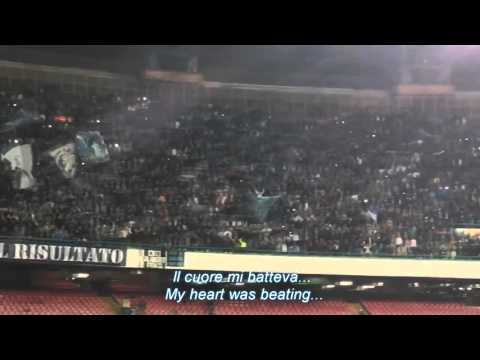 Napoli fans, new amazing chant (please Subscribe)