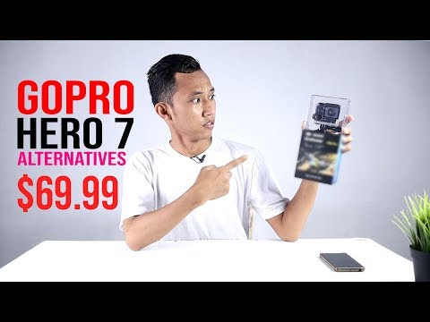 $69.99 GOPRO HERO 7 ALTERNATIVES : UNBOXING EKEN Alfawise V50 Pro 4K  KAMERA TERBAIK UNTUK PEMULA