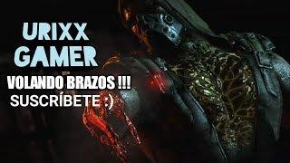 !!!JUGANDO MORTAL KOMBAT X!!!- VOLANDO BRAZOS CON EL DEPREDADOR XD- Urixx Gamer
