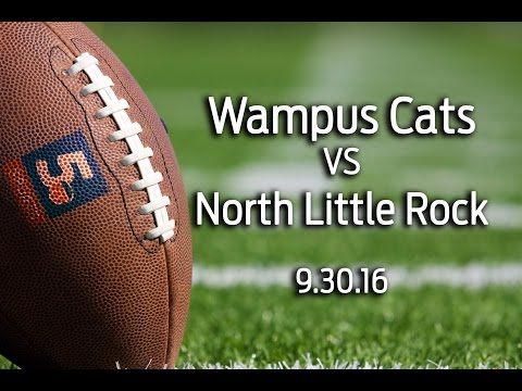 Conway Wampus Cats vs North Little Rock 9/30/16