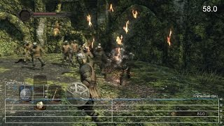Dark Souls 2 PS4 Gameplay Frame-Rate Test