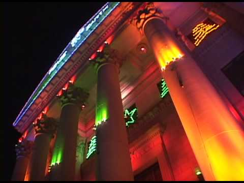 Spectacular Civic Center Christmas Lights