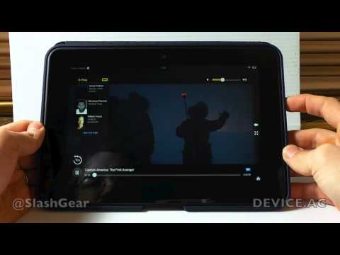 Kindle Fire HD 8.9 hands-on with X-Ray for video and ebooks