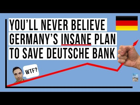 Deutsche Bank To Become A SUPER Bank! Germany Will Set Stage For Global Financial Collapse!