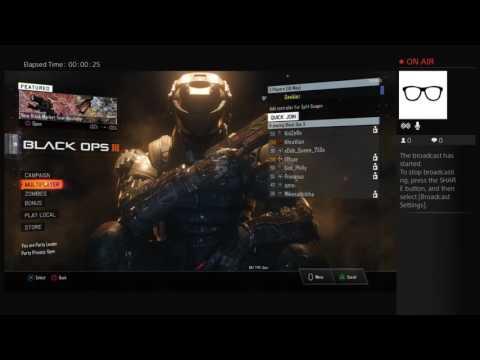 Geekier's Live PS4 Broadcast