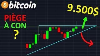 BITCOIN 9800$ PIÈGE À CON !? btc analyse technique crypto monnaie