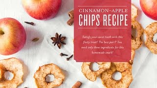 Cinnamon-Apple Chips Recipe | Young Living Essential Oils