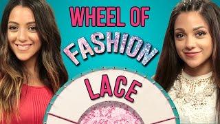 Niki And Gabi Lace Outfit Challenge #WheelofFashion