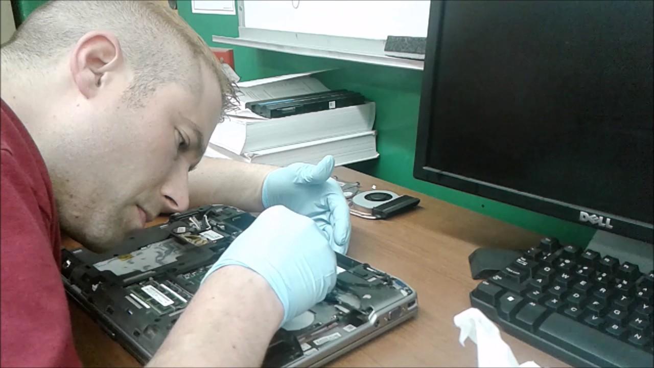 Fix Dell Latitude E6420 Overheat Issue (i7-2760QM, NVIDIA 4200M)