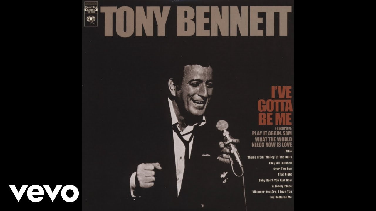 Tony Bennett - What The World Needs Now Is Love (Audio)