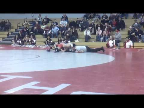 132lbs Steven Martinez vs Brad Buttars (Prosser)