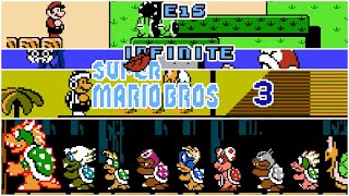 E1S Infinite Super Mario Bros. 3 Hack (