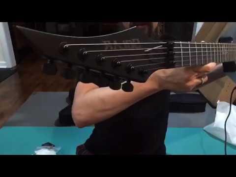 Solar Guitars unboxing V series - V1.6FRC