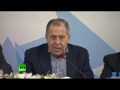 Russian Foreign Minister comments on Syria strikes and Skripal case