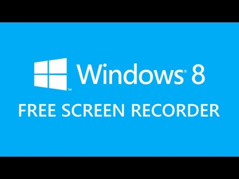 recording software for windows 8 free download