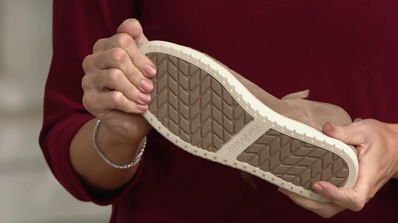 8bc9b0926b9 Koolaburra by UGG High Top Sneakers - Kellen on QVC