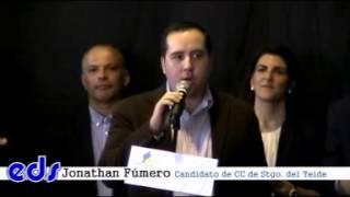 Candidato de CC de Santiago del Teide elecciones 2015