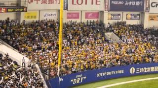 2015年7月11日 千葉ロッテマリーンズ 3vs5 福岡ソフトバンクホークス ブ...