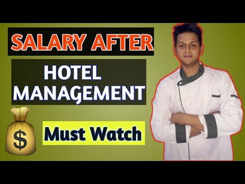 Salary After Doing Hotel Management Course   Hotel Management Salary  