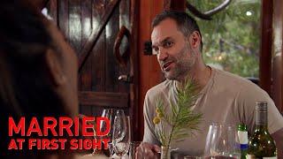 Ning and Mark discuss having sex during heartfelt dinner | MAFS 2019