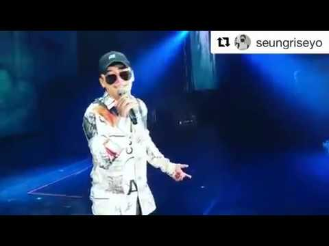 SEUNGRI SINGING UNTITLED 2014 FOR G-DRAGON ON INSTAGRAM 22.09.17