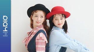 (SUB) Apink Mini Diary - 통통 튀는 롱뽐의 지니킴 화보 촬영 현장