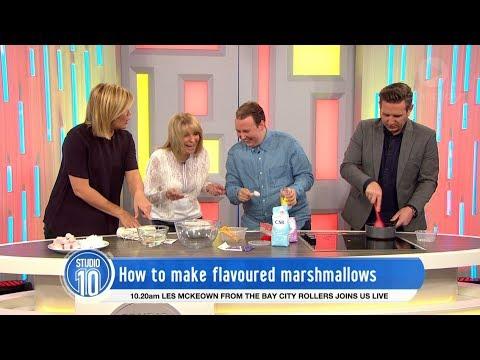 Flavoured Marshmallows w/ Callan Smith   Studio 10