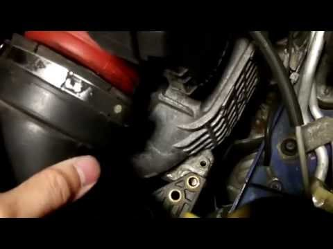 Mercedes W203 C230 M271 - Throttle Body Removal