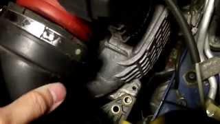 Mercedes W203 C230 1.8 M271 Kompressor - Throttle Body Removal