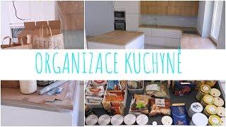 ORGANIZACE KUCHYNĚ - Šuplíky - Skladování - Siko kuchyňská linka | Markéta Venená