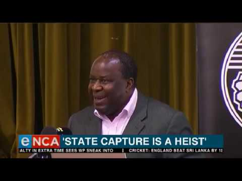 Mboweni: State capture is a heist