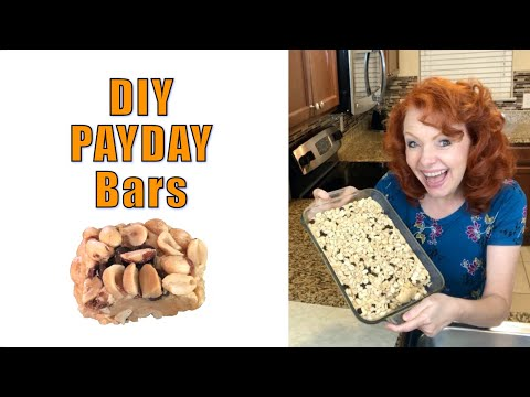 DIY Pay Day Bar (recipe Included)