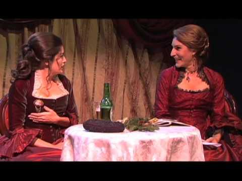 Strindberg's THE STRONGER w/ Bret Crain & Christina Dow (Pt 1 of 2)