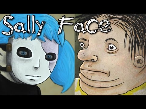 Sally Face Episode One - (INTERNALLY SCREAMING), Manly Let's Play