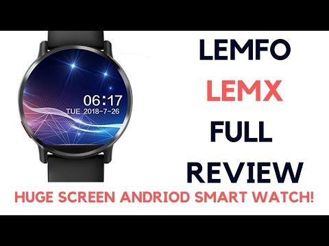 LEMFO LEM X 4G SMART WATCH REVIEW | BIG SCREEN = MUST BUY?